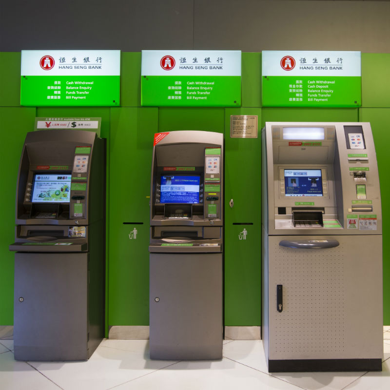 Hang Seng ATM Kowloon